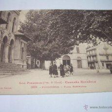 Postales: ANTIGUA POSTAL.......PUIGCERDA.. Lote 49586895