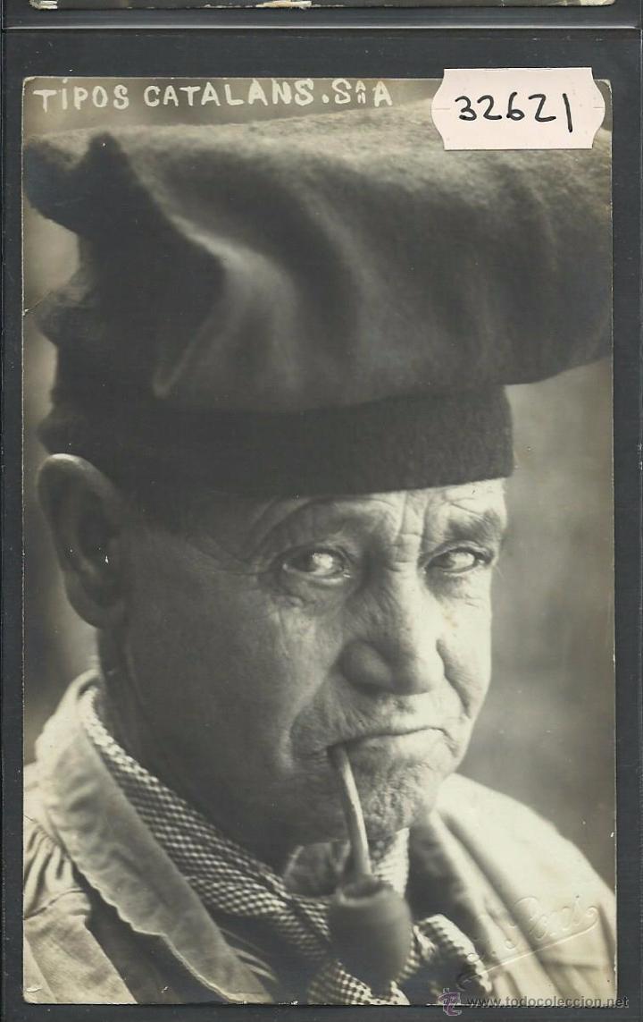 BLANES - TIPOS CATALANS - FOTOGRAFICA J.PONS - SELLO EN SECO - (32621) (Postales - España - Cataluña Antigua (hasta 1939))