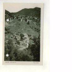 Postales: TARJETA POSTAL FOTOGRÁFICA DE SERCHS CERCS VISTA PARCIAL, BARCELONA, FOTO LLOBET. Lote 49792507