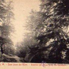 Postales: SANT JOAN DE L'ERM Nº 4 S.G.M. INTERIOR DEL BOSCA PROP DEL SANTUARI FOTOTIPIA THOMAS SIN CIRCULAR . Lote 49904421