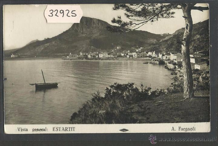 ESTARTIT - VISTA GENERAL - FOTOGRAFICA A. FARGNOLI - (32925) (Postales - España - Cataluña Antigua (hasta 1939))