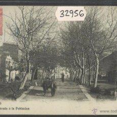 Postales: ROSES - ENTRADA POBLACION - FOT· B.FONOLLERAS - (32956). Lote 49982511