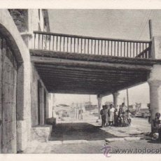 Postales: POSTAL VILANOVA I LA GELTRU CASA DE PESCADORS AL TRAJO DE LLEVANT . Lote 50086197