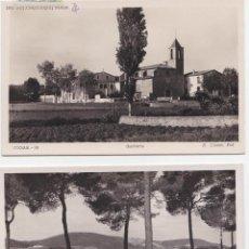 Postales: P- 1750. LOTE 3 POSTALES FOTOGRAFICAS BEGAS. BARCELONA.. Lote 50086746