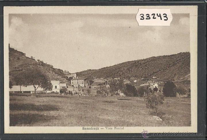 SANAÜJA - SANAHUJA - VISTA PARCIAL - FOT· M. SOLE - (33243) (Postales - España - Cataluña Antigua (hasta 1939))