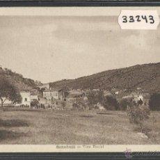 Postales: SANAÜJA - SANAHUJA - VISTA PARCIAL - FOT· M. SOLE - (33243). Lote 50127766