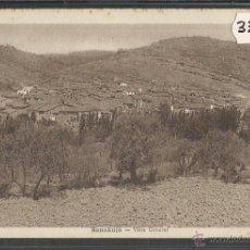 Postales: SANAÜJA - SANAHUJA - VISTA GENERAL - FOT· M. SOLE - (33247). Lote 50127784