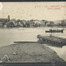 Postales: AMPOSTA - ATV 2297 - DESEMBARCADERO - ORILLA OPUESTA - (33302). Lote 50152672