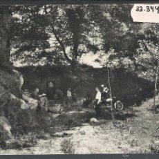Postales: LLINAS DEL VALLES - 34 - FONT DEL VERN - CAN BORDOY - MOTO - EXCL· NOGUERAS - ED· SOBERANAS -(33344). Lote 50154004