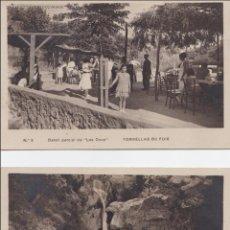 Postales: P- 1960. LOTE 2 POSTALES FOTOGRAFICAS TORRELLAS DE FOIX. LAS DOUS.. Lote 50180711