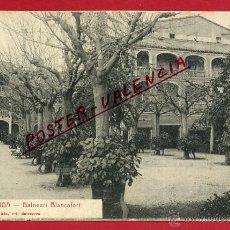 Postales: POSTAL LA GARRIGA, BARCELONA, BALNEARIO BLANCAFORT, P99657. Lote 50187976