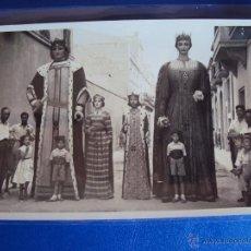 Postales: (PS-46026)POSTAL DE VILAFRANCA DEL PANADES-GIGANTES,GEGANTS.FOTO CUYAS. Lote 50201048