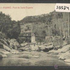 Postales: FIGARO - 2 - PONT DE SANTA EUGENIA - THOMAS - (33534). Lote 50221783