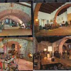 Postales: HOSTALRICH. CASTILLO-FORTALEZA. MONUMENTO HISTÓRICO-ARTÍSTICO. Lote 50273864