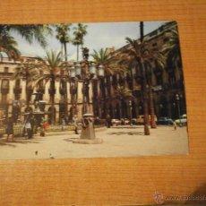 Postales: POSTAL BARCELONA PLAZA REAL ESCRITA. Lote 50296726