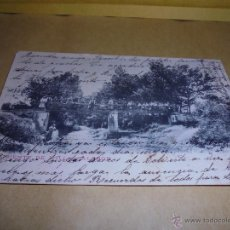 Postales: CALONGE - FUENTE DE L'ILLA POSTAL CIRCULADA , REVERSO SIN DIVIDIR . 14X9 CM. . Lote 50299352