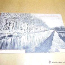 Postales: 15 - TORTOSA (ROQUETAS) CANAL DEL EBRE FOT. R. BORRELL ELIXIR DIGESTIVO SALUD - ESTOMAGO .CIRCULADA . Lote 50307944