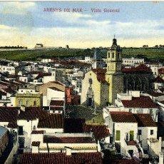 Postales: POSTAL ARENYS DE MAR - VISTA GENERAL. EDIC. EXCLUSIVA PARA JOSÉ BRAS TAXONERA. C. SOLÉ. EDIT.- FOT.. Lote 50316391