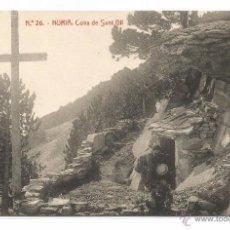 Postales: NURIA Nº 26 .- COVA DE SANT GIL .- FOTOTIPIA THOMAS . Lote 50332313