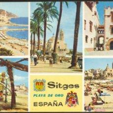Postales: 50 - SITGES .- PLAYA DE ORO.- ESPAÑA. Lote 50388258