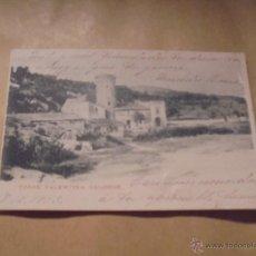 Postales: CALONGE - TORRE VALENTINA .POSTAL CIRCULADA 1905 - REVERSO SIN DIVIDIR - 14X9 CM. . Lote 50394784