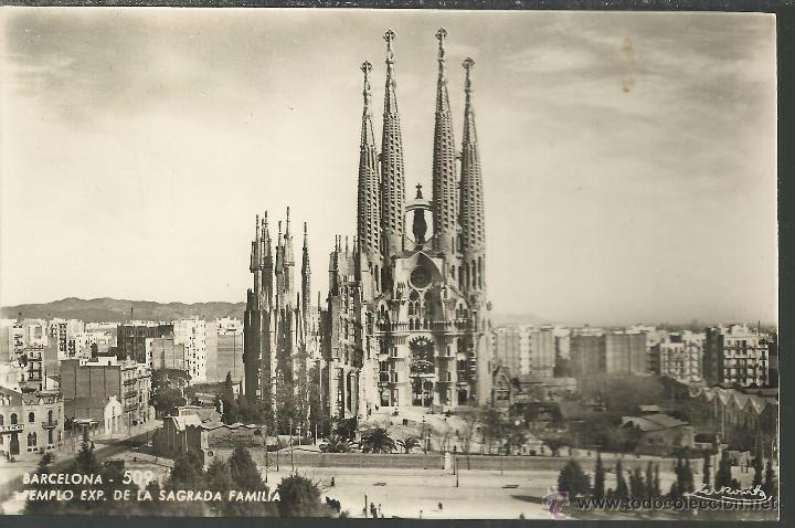 Barcelona Sagrada Familia Sin Escribir