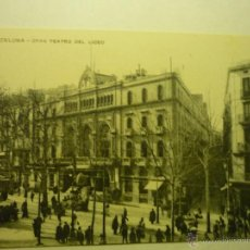 Postales: POSTAL BARCELONA-GRAN TEATRO LICEO--CM. Lote 50525892