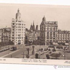Postales: POSTAL BARCELONA - 46 / AVINGUDA DEL PORTAL DE L'ANGEL / SIN USAR. Lote 50769017