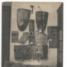 Postales: TARRAGONA Nº 2195 .- MUSEO PROVINCIAL ESTATUA CONDE QUERALT Y AZULEJOS ROMANOS .- A.T.V.. Lote 194302095