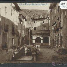 Postales: PONS - J.B. 2 - PLAÇA DEL BLAT - FOTOGRAFICA - VER REVERSO - (34625). Lote 50897050