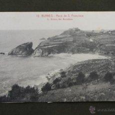 Postales: POSTAL DE BLANES, RECÓ DE SAN FRANCISCO, GIRONA, ROISIN FOTOGRAFO. Lote 50919073