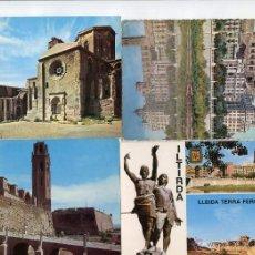 Postales: LOTE DE 11 POSTALES DE LLEIDA LERIDA. Lote 50958461