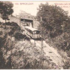 Postales: BARCELONA TIBIDABO FUNICULAR 1929. Lote 8590931