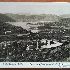 Postales: POBLA DE SEGUR - POSTE TRANSFORMACIÓN DE E. E. C.. Lote 50996989