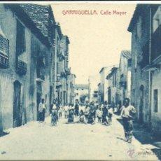 Postales: (PS-46311)POSTAL DE GARRIGUELLA-CALLE MAYOR. Lote 50999422
