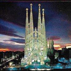 Postales: POSTAL * BARCELONA ,SAGRADA FAMILIA * ZERKOWITZ. Lote 51014813