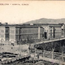 Postales: ANTIGUA POSTAL ANIMADA DE BARCELONA Nº 44 - HOSPITAL CLINICO. Lote 51018928