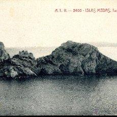 Postales: POSTAL ISLAS MEDAS, TASCONS GROSSOS. A.T.V. - 2400. Lote 51021245