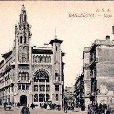 Postales: ANTIGUA POSTAL ANIMADA DE BARCELONA - CAJA DE PENSIONES. Lote 51024412