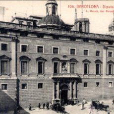 Postales: ANTIGUA POSTAL ANIMADA DE BARCELONA Nº 106 - DIPUTACIÓN PROVINCIAL. Lote 51024538