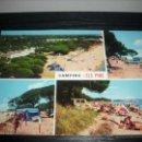 Postales: POSTAL COSTA DORADA TARRAGONA CAMBRILS CAMPING ELS PINS -- ESCRITA - . Lote 51035515