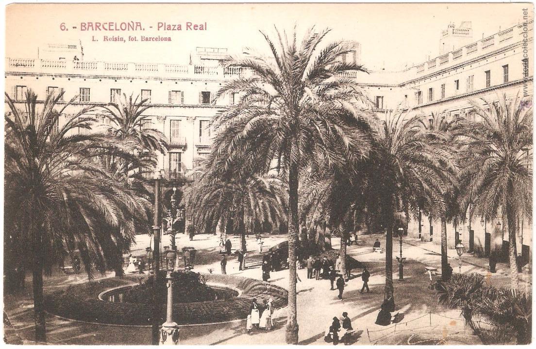 BARCELONA PLAZA REAL (Postales - España - Cataluña Antigua (hasta 1939))