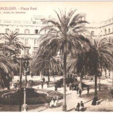 Postales: BARCELONA PLAZA REAL. Lote 3271815