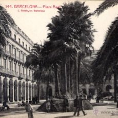 Postales: ANTIGUA POSTAL ANIMADA DE BARCELONA Nº 144 - PLAZA REAL. Lote 51066367