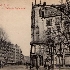 Postales: ANTIGUA POSTAL ANIMADA DE BARCELONA - CALLE DE SALMERÓN. Lote 51066759