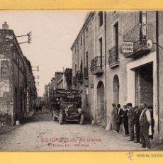 Postales: POSTAL DE RIUDOMS CALLE DEL ORIENTE EDICION L. ROISIN SIN CIRCULAR . Lote 51077070