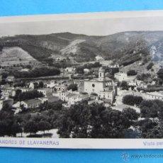 Postales: SAN ANDRES DE LLAVANERAS , VISTA PARCIAL , CICULADA. Lote 51082524