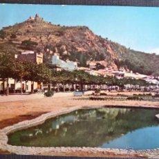 Postales: BLANES, COSTA BRAVA, PASEO. POSTAL CIRCULADA DEL AÑO 1961. Lote 51207829