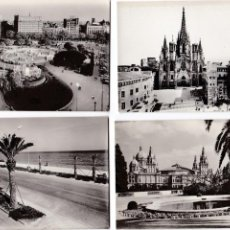 Postales: P- 2416. LOTE DE 5 POSTALES FOTOGRAFICAS DE BARCELONA. PPIO. AÑOS 60.. Lote 51221289