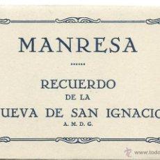 Postales: BLOC 7 POSTALES DE DE - MANRESA - CUEVA DE SAN MIGUEL TODAS NUEVAS . Lote 51224144